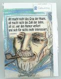 Geburtstagskarte - Alter Mann