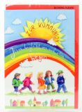 Kommunionkarte - Jesus begleitet uns