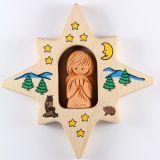 Kinderkreuz - Sterne & Engel