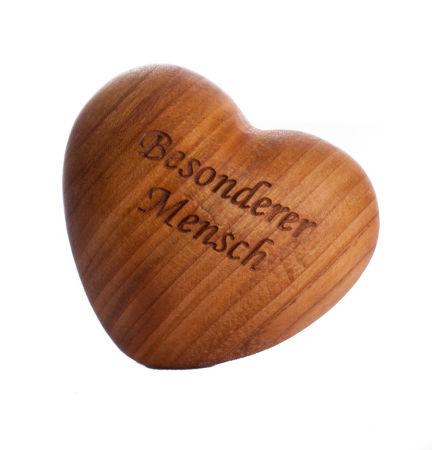 Handschmeichler-Herz - Besonderer Mensch