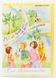 Kommunionkarte - Auf Deinem Weg