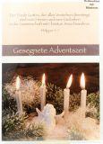 Weihnachtskarte - Friede Gottes