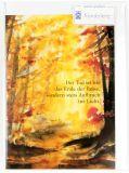 Trauerkarte - Aufbruch ins Licht