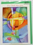 Taufkarte - Farbiges Kreuz