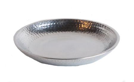 Kerzenteller - Rund & Aluminium